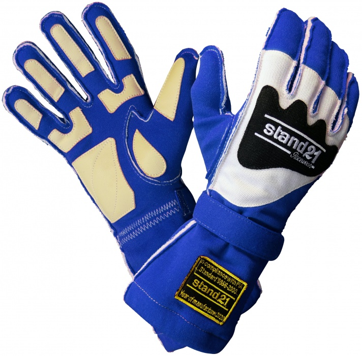 Stock royal blue Outside Seams II gloves